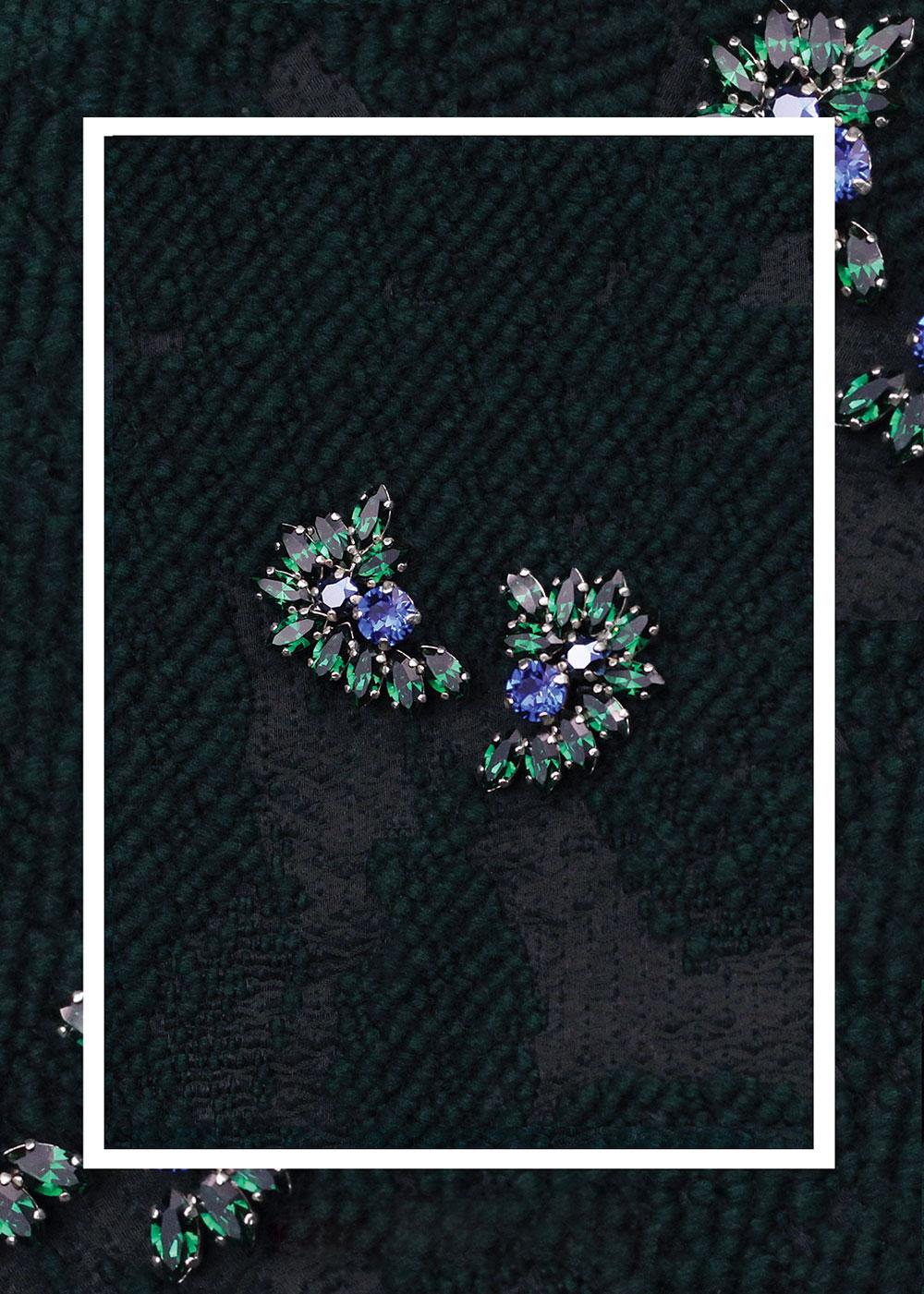 02_Cercei_Josephine_cristale_swarovski_verde_smarald_albastru