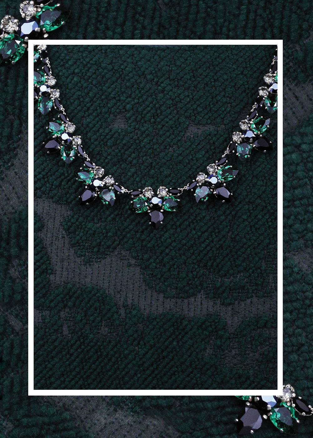 02_colier_josephine_cristale_swarovski_verde_smarald_gri_negru_albastru_metalic