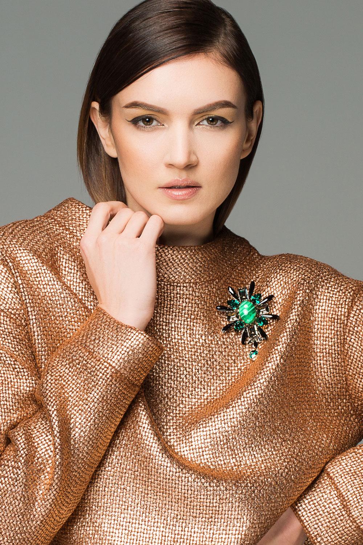 JB19F2016-brosa-Josephine-colectia-noua-toamna-iarna-2016-#19-cristale-swarovski-negru-verde-smarald-gri-malahit_