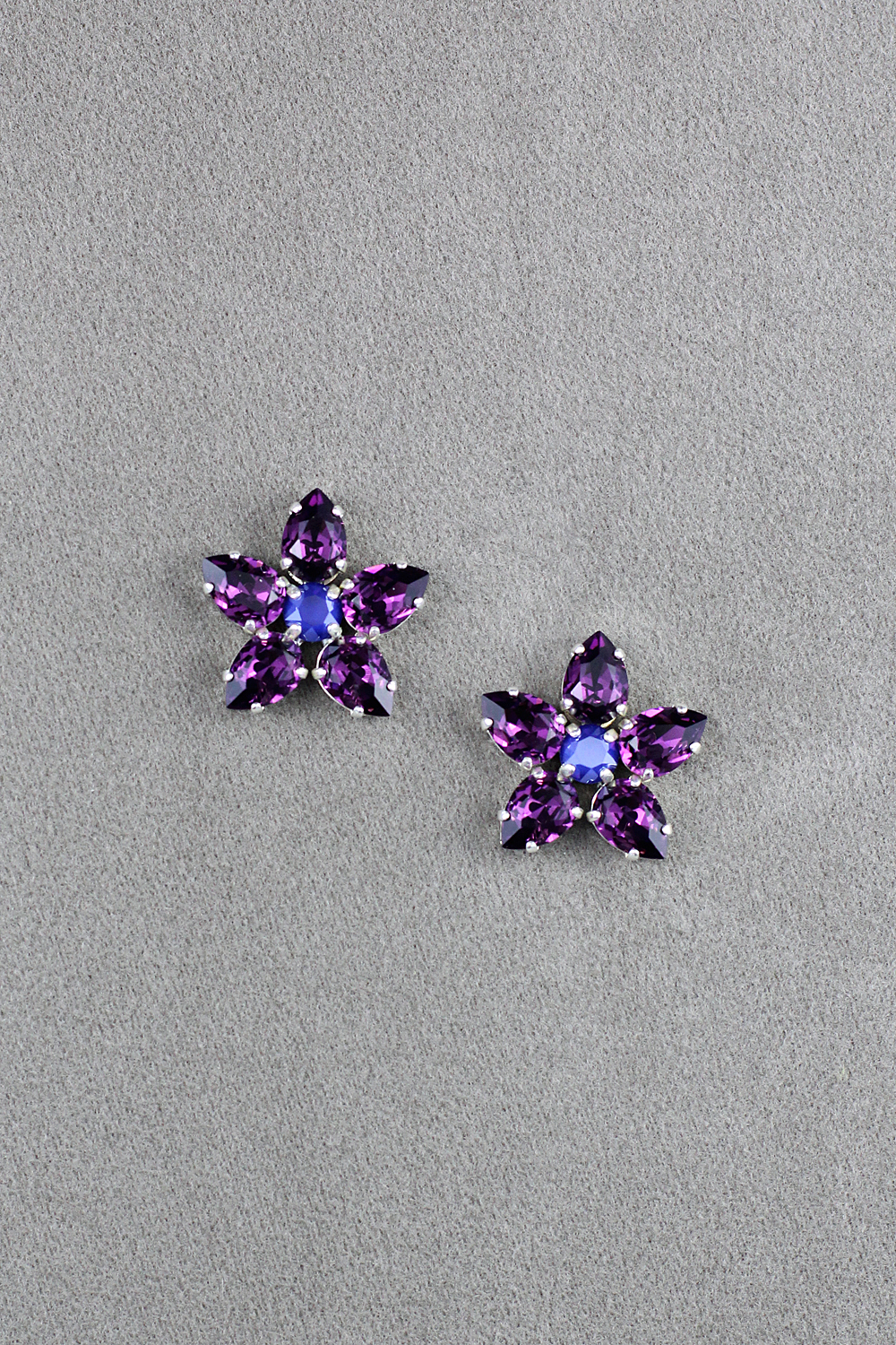 L\'améthyste de Joséphine Earrings