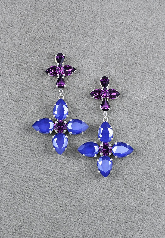 Les Bleus de Joséphine Earrings