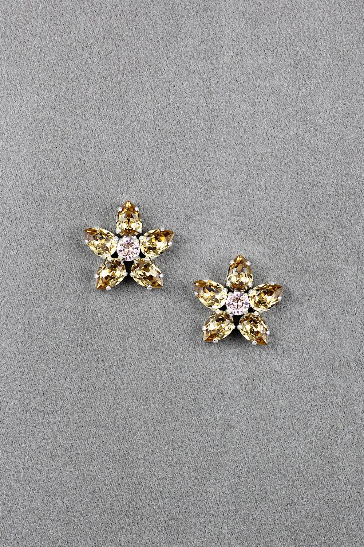 Les Fleurs Dorées Earrings