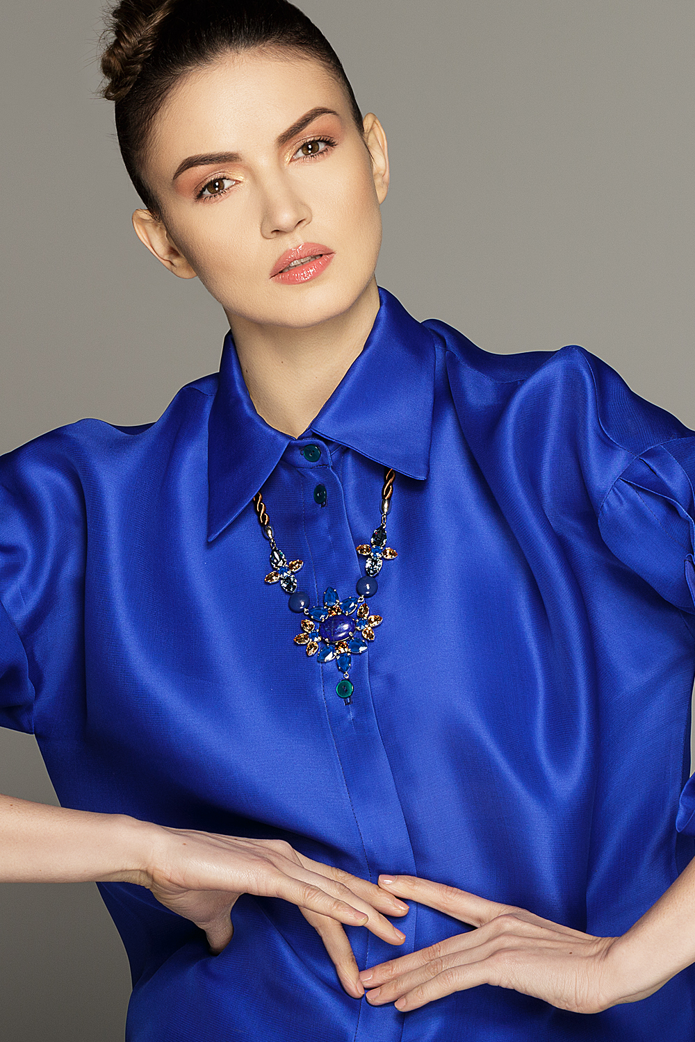 Bleu de Josephine Necklace