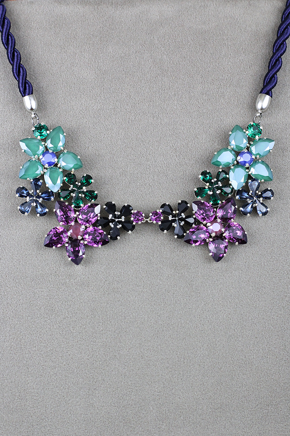 Purple x Josephine necklace