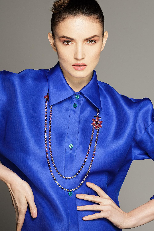 Josephine x Amethyste long Necklace