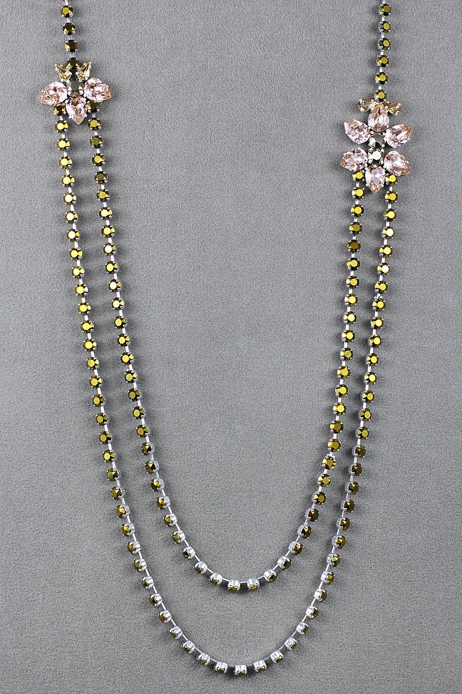 Josephine x Bronze long Necklace