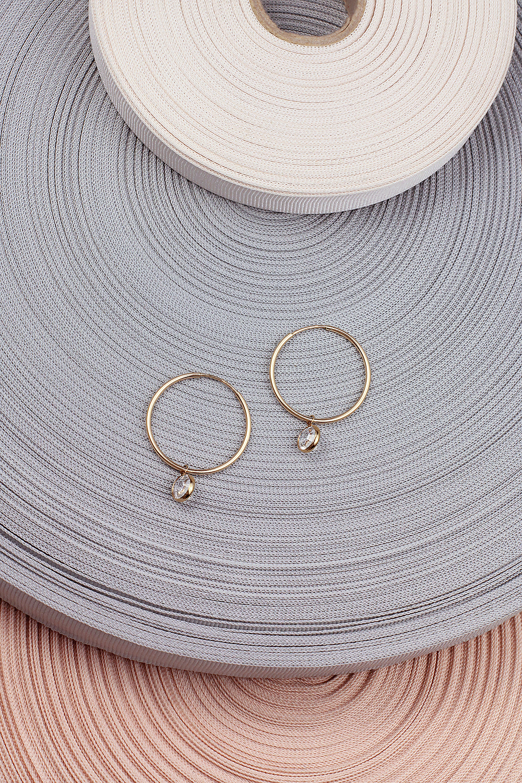 josephine minimal hoop earrings je12m18 24k gold plated swarovski crystals