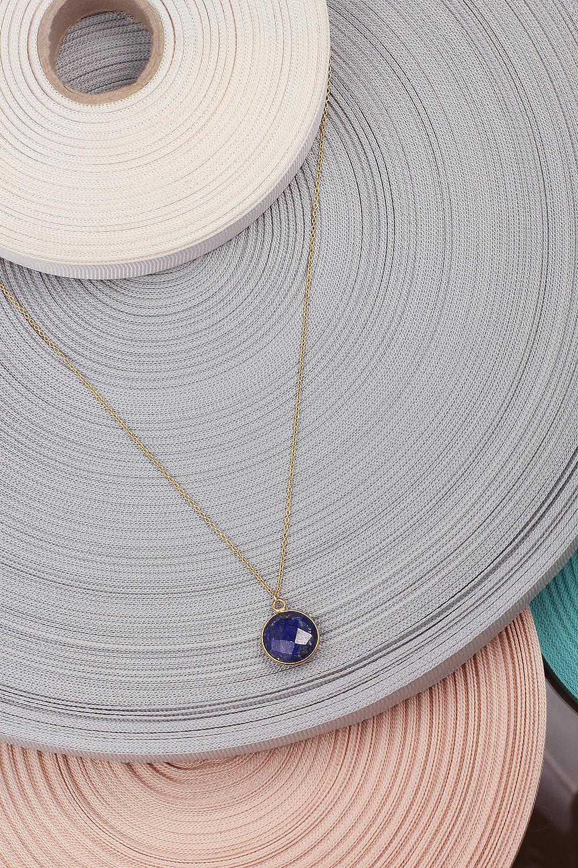 24k gold plated josephine jn08m18 necklace minimal lapis