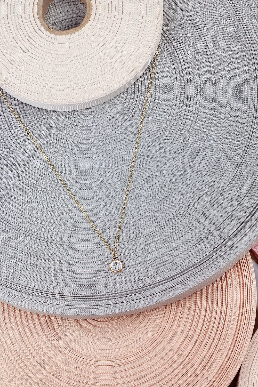 josephine jn11m18 minimal necklace 24k gold plated chain swarovski crystal